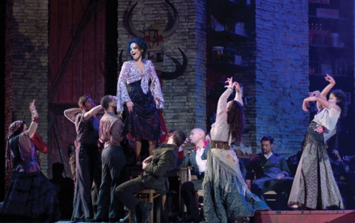 Elina Garanca as Carmen (Ken Howard/Met Opera)