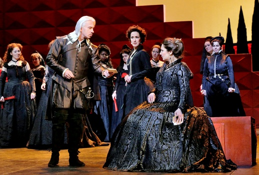 Dmitri Hvorostovsky as Rodrigo & Barbara Frittoli as Elisabetta in Verdi's Don Carlo