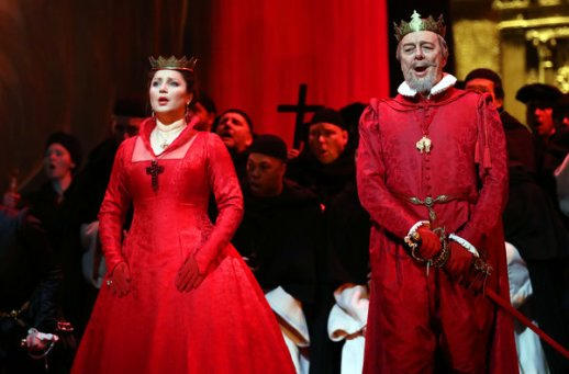Barbara Frittoli & Ferruccio Furlanetto as King Phillip II