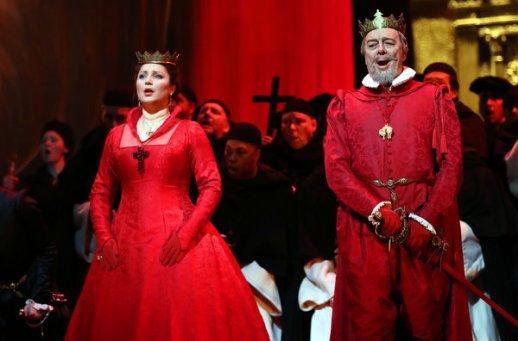 Barbara Frittoli & Ferruccio Furlanetto as King Phillip II