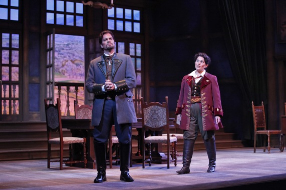 Scene from Mascagni's L'Amico Fritz at Sarasota Opera (Photo: Richard Termine)