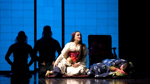 Scene from Act II of Puccini's Madama Butterfly (Met Opera)