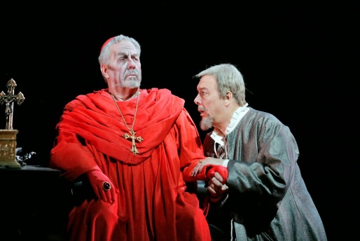 James Morris as the Grand Inquisitor & Ferruccio Furlanetto as King Philip