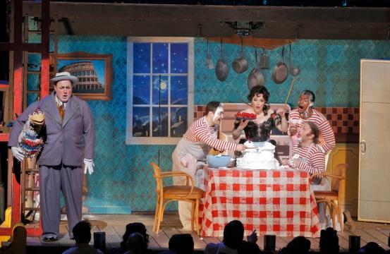 Leoncavallo's Pagliacci, Act II (Photo: Cory Weaver/Met Opera)
