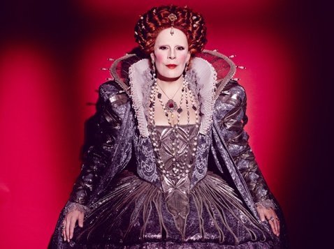 Sondra Radvanovsky as Queen Elizabeth in Roberto Devereux (Met Opera)