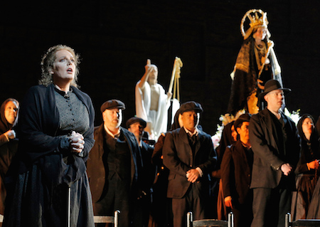 Eva-Maria Westbroek as Santuzza in Cavalleria Rusticana