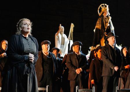 Eva-Maria Westbroek as Santuzza in Cavalleria Rusticana