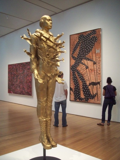 Tar Baby vs. St. Sebastian full length photo (NC Museum of Art)