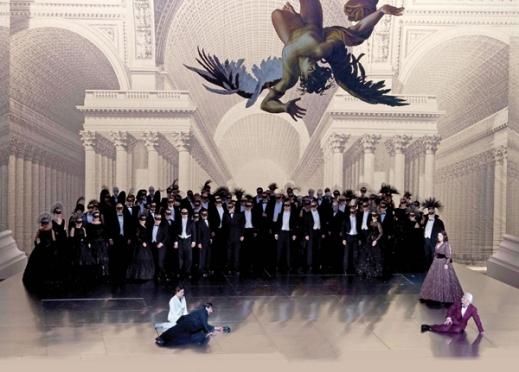 Gustavo's death scene, Act III, of Verdi's Un Ballo in Maschera (Beth Bergman)