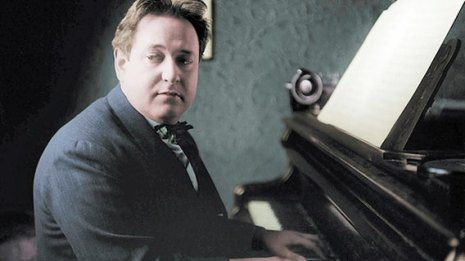Erich Wolfgang Korngold, composer of the score