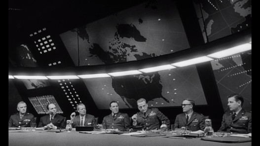 The War Room in Dr. Strangelove (1964)