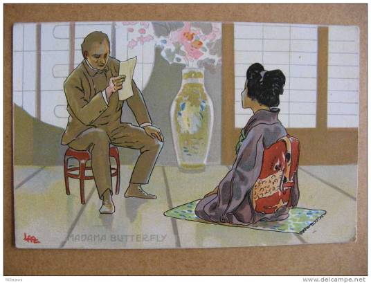 Sharpless reading Pinkerton's letter to Cio-Cio-San, from Act II of Madama Butterfly