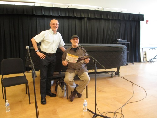 Me & Buddy Deppenschmidt at Strathmore, Education Room 309, June 8, 2014