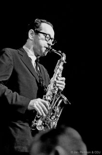 Paul Desmond on Tenor sax (Photo: Jan Persson & CDJ)