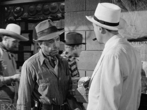 Humphrey Bogart (left) & John Huston in The Treasure of the Sierra Madre