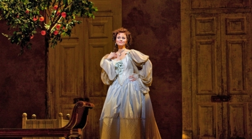 Isabel Leonard as Rosina in The Barber of Seville