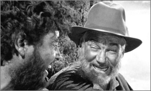 Tim Holt & Walter Huston