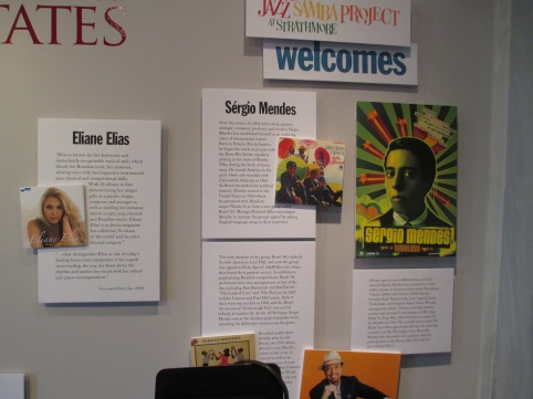 Photos & Bios of Eliane Elias & Sergio Mendes - Jazz Samba Exhibit, June 2014