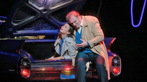 Nadine Sierra as Gilda & Zeljko Lucic as Rigoletto