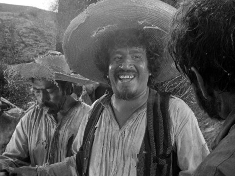 "Alfonso Bedoya as ""Gold Hat"""
