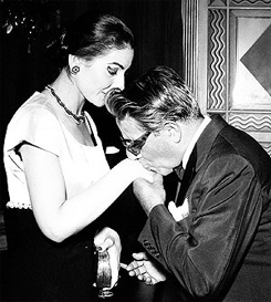 Callas with Onassis