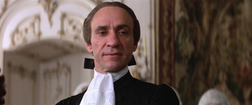 The young Salieri (F. Murray Abraham)