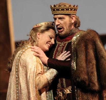 Eva-Maria Westbroeck (Elisabeth) & Gunther Groissbeck (Hermann) in Act II