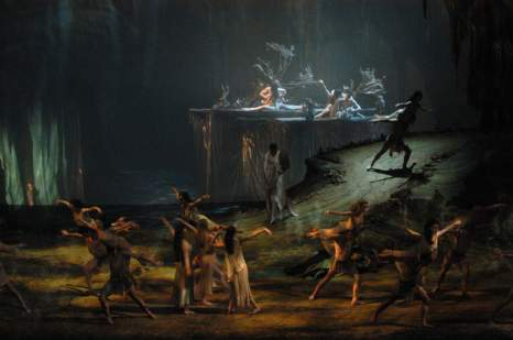 Met Opera Tannhäuser: Bacchanale from Act I