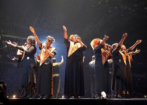 Gospel Choir on American Idol