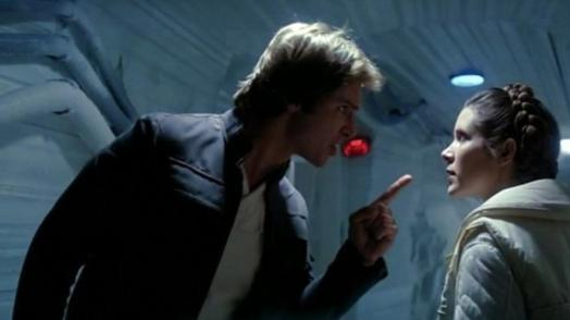 "Han & Solo have a ""lovers"" spat"