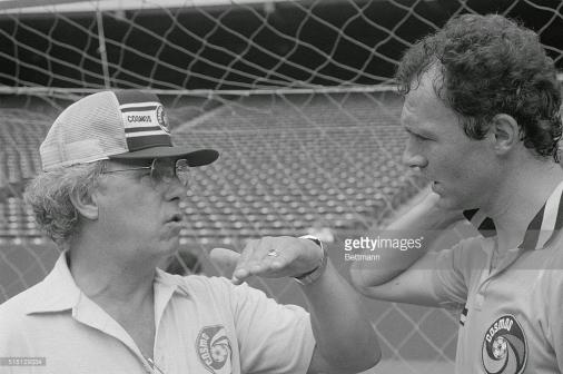 Professor Julio Mazzei (left) & Franz Beckenbauer