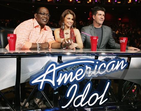 Randy Jackson, Paula Abdul & Simon Cowell