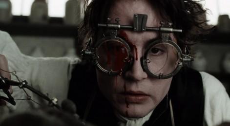 Depp as Constable Ichabod Crane in Sleepy Hollow