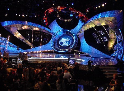The Kodak Theatre where American Idol took place
