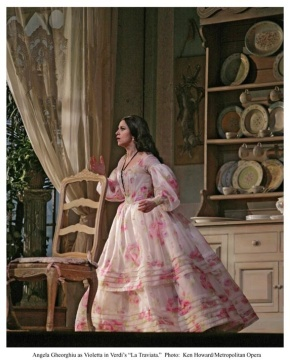 Angela Gheorghiu as Violetta in La Traviata (Photo: Ken Howard/Met Opera)