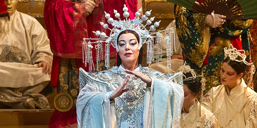 Nina Stemme as Turandot at the Met