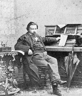Amilcare Ponchielli (1834-1886), composer of La Gioconda