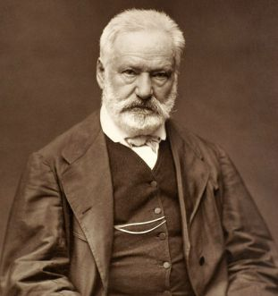 Victor Hugo (1802-1885), French novelist & playwright