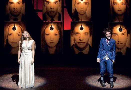 Spring Awakening, staged by Moeller & Botelho, with Leticia Colin & Rodrigo Pandolfo