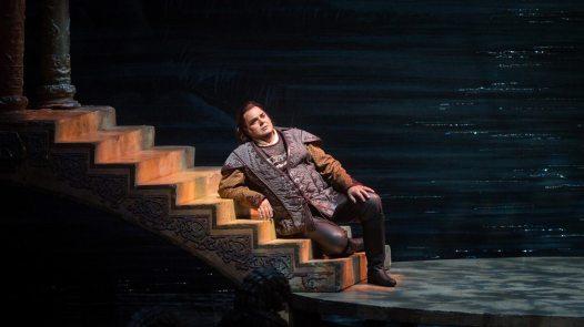 """Nessun dorma,"" sung by Marco Berti as Calaf"