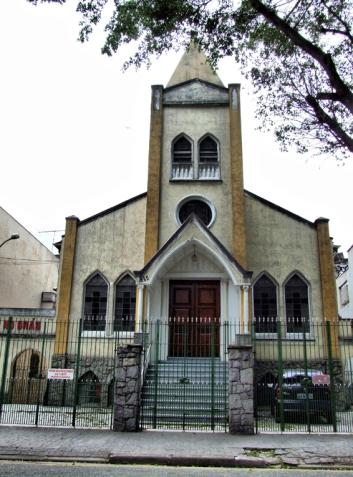Igreja Metodista do Bras (Methodist Church of Bras) in Sao Paulo