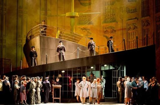 Manon Lescaut Act III: The Port of Le Havre (Photo: Met Opera)