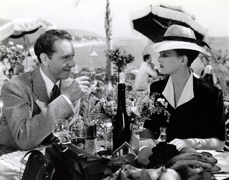 Paul Henreid & Bette Davis in Now, Voyager (1942)