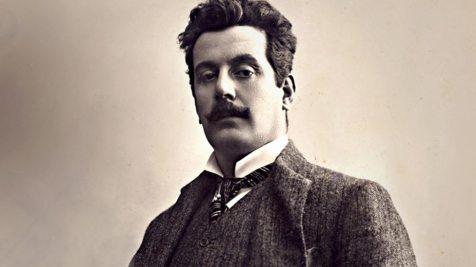 Portrait of Giacomo Puccini