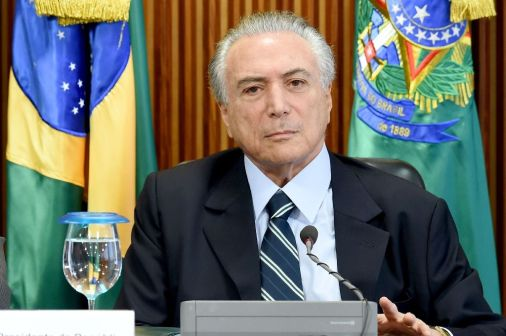 Interim President Michel Temer (AFP Photo - Evaristo Sa)