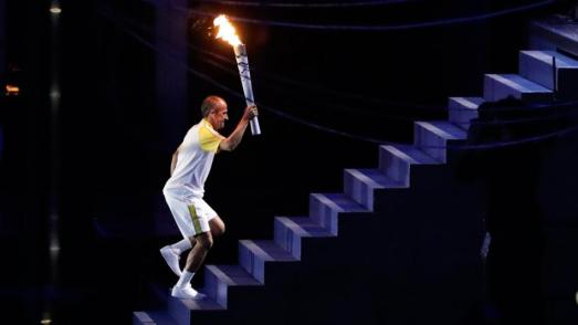Torch lighting ceremony - Rio 2016