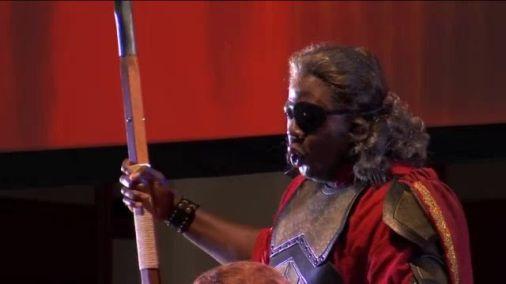 Alfred Walker as Wotan in Das Rheingold (Photo: North Carolina Opera)