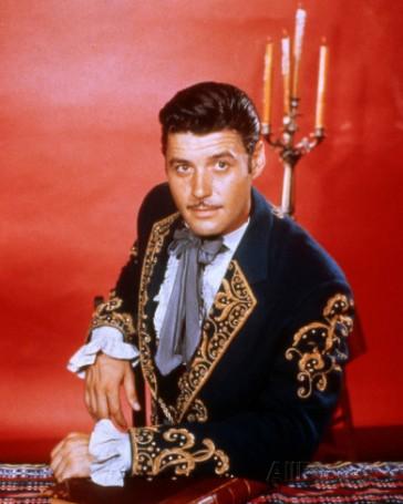 Guy Williams in the Disney series Zorro (1957-59) (AllPosters.com)