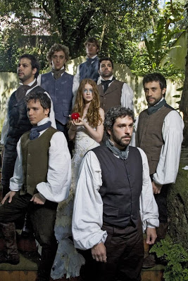 Clara & the Seven Young Men (aka Dwarfs)