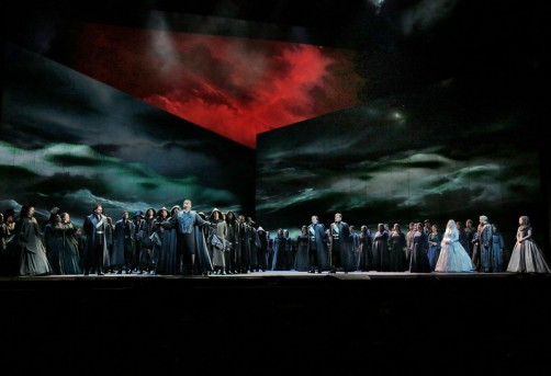 The Storm Scene from Act I of Verdi's Otello (Photo: Ken Howard / Met Opera)